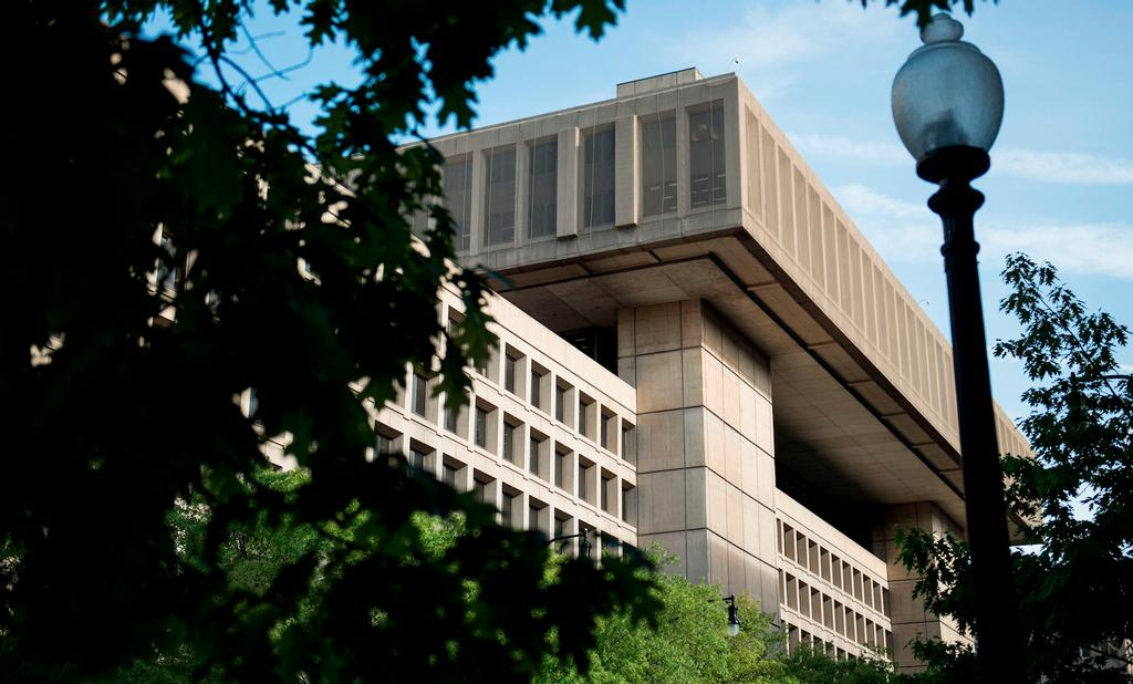 Le quartier général du FBI à Washington.