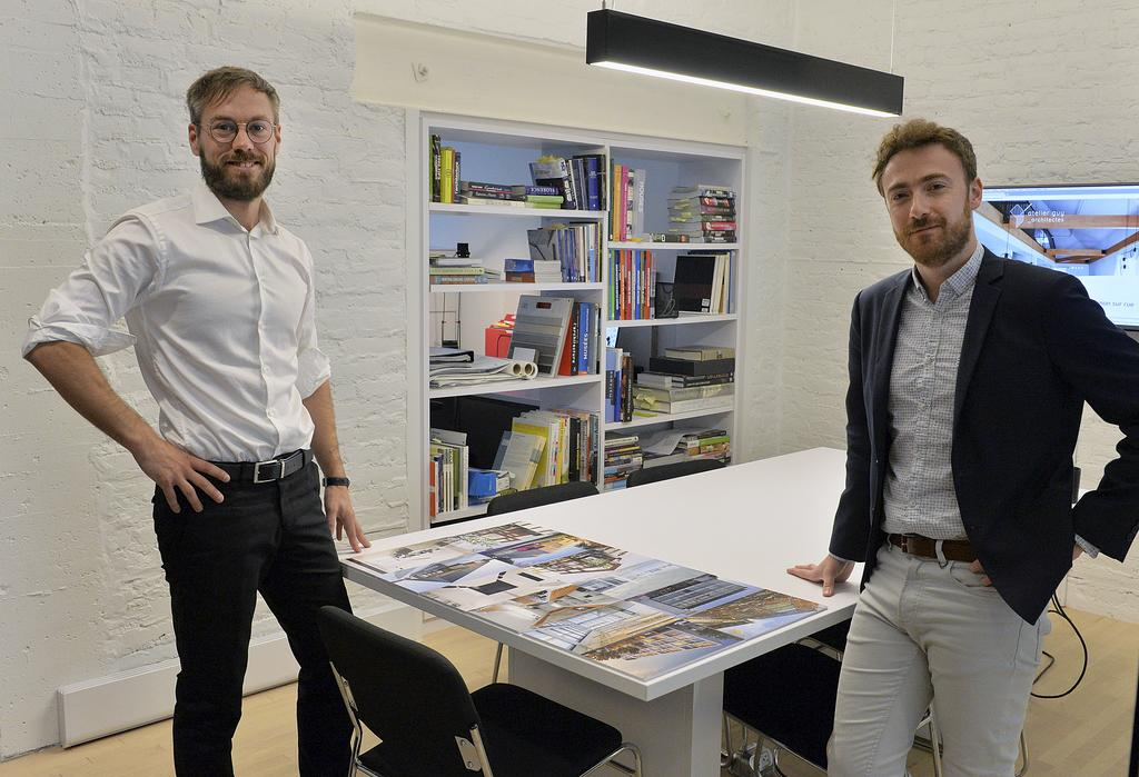 Antoine Guy et Vincent Beaudoin, architectes associés
