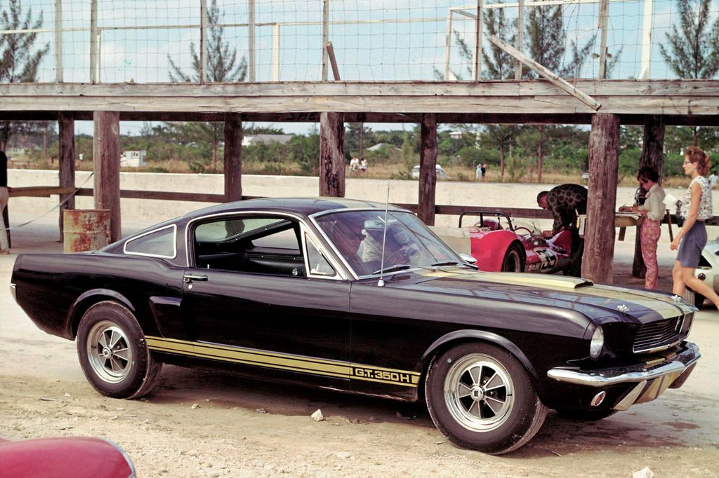 La Ford Mustang 1966