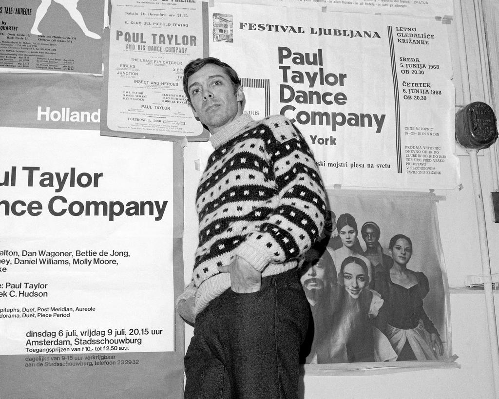 Paul Taylor à New York en 1969
