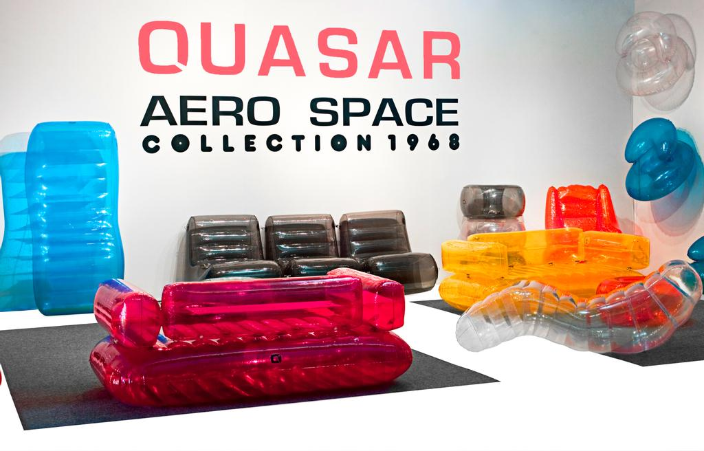 Mobilier de la collection Aerospace créé par Quasar Khanh.
