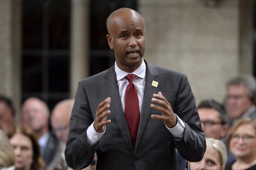 Le ministre de l'Immigration, Ahmed Hussen