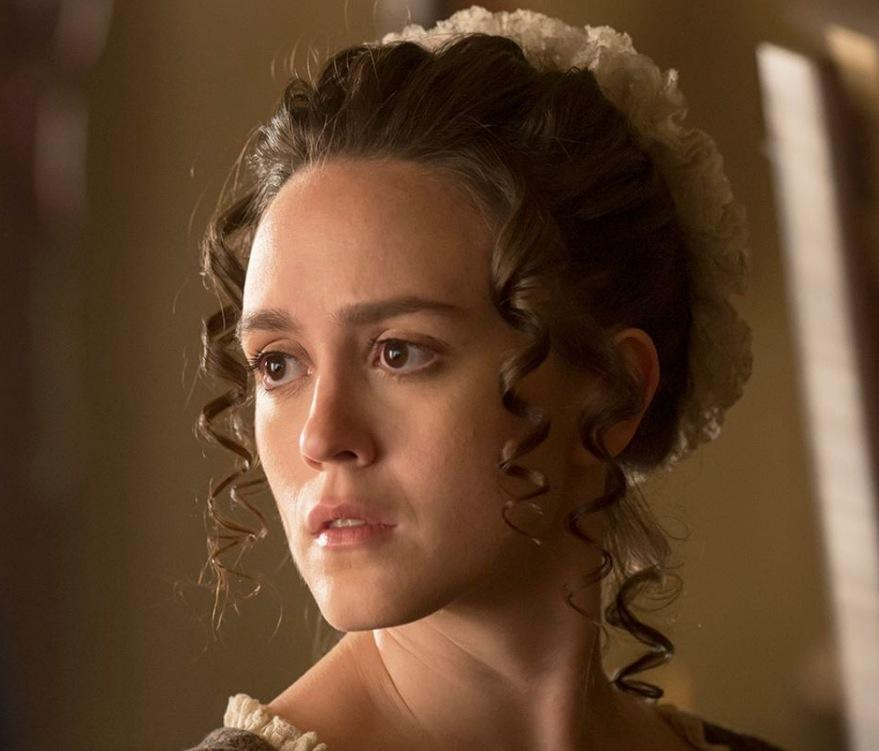 Heather Lind dans la série Turn
