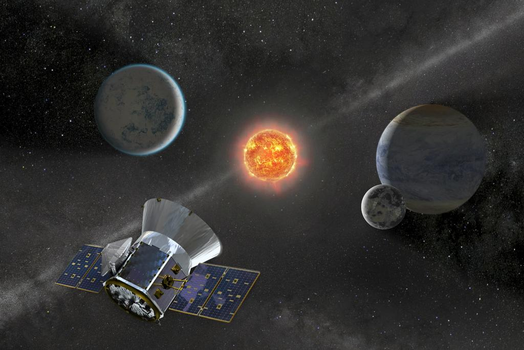 Illustration du satellite Tess