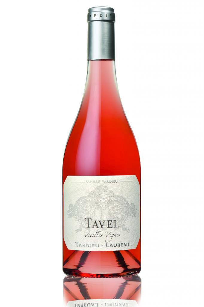 Tavel 2018, Vieilles Vignes, Tardieu-Laurent 24,95 $ •  13199274  •  14 % •  3,6 g/l •  BIO, Vinification vegan