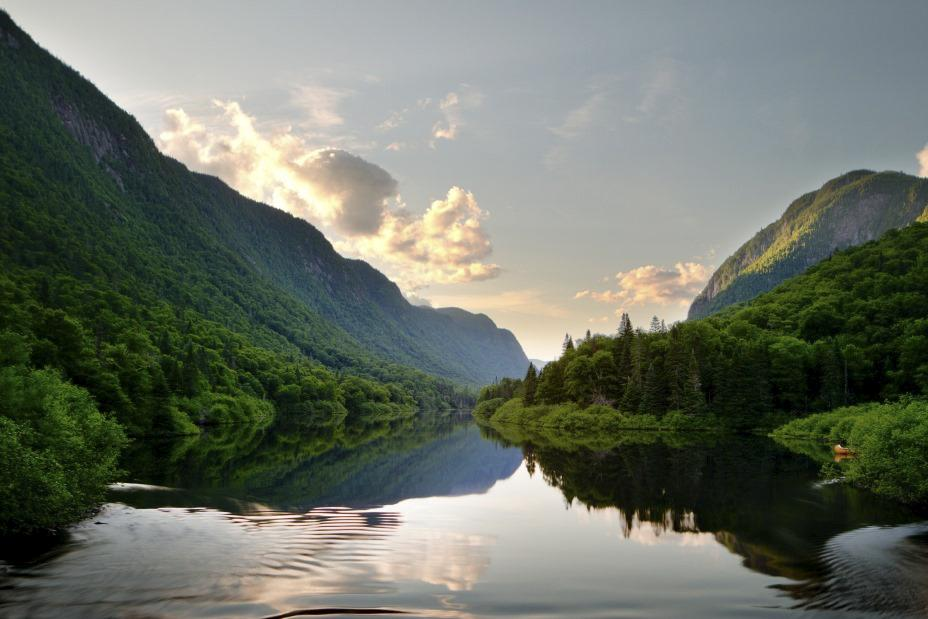 Le Parc national de la Jacques-Cartier
