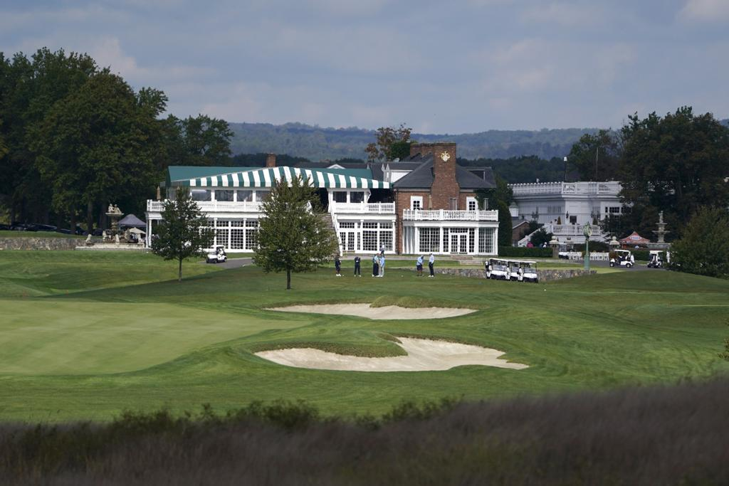 Le club de golf Trump National de Bedminster, au New Jersey