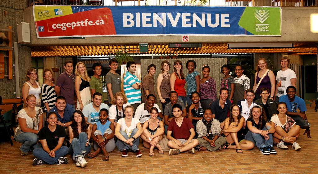 Le Cégep de Saint-Félicien accueille 250 étudiants internationaux, sur un total de 1050 étudiants.