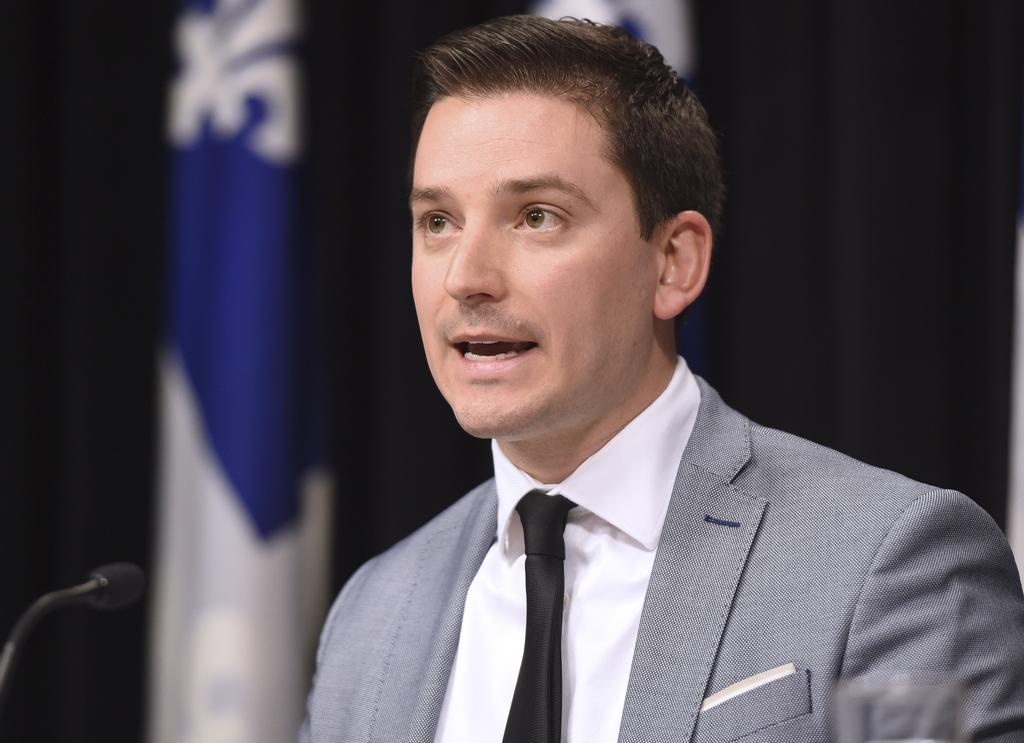 Le leader parlementaire du gouvernement, Simon Jolin-Barrette