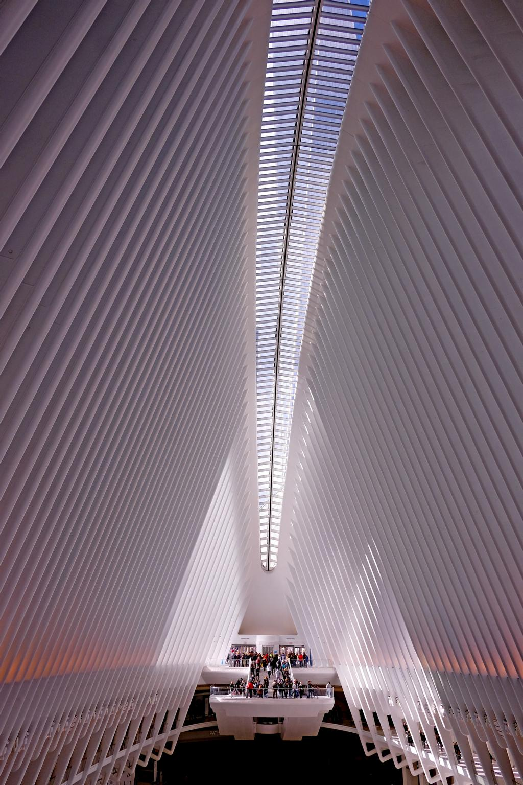 L'Oculus, le nouveau terminal du World Trade Center à New York