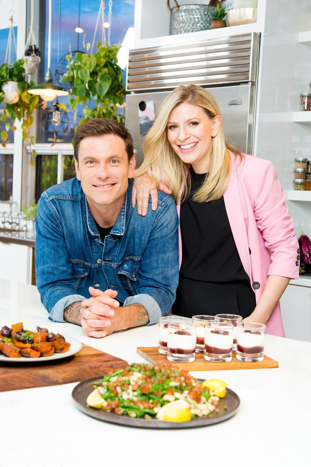 Chuck Hughes et Anne-Marie Withenshaw animent «L'atelier culinaire»