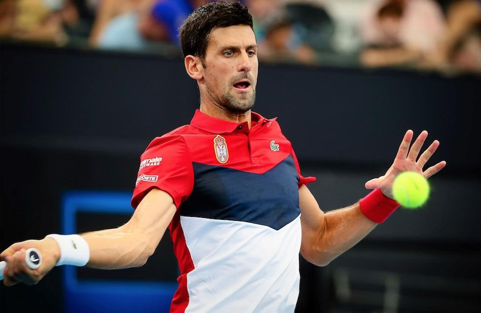 Le Canada affrontera maintenant Novak Djokovic (photo) et la Serbie à la Coupe ATP.