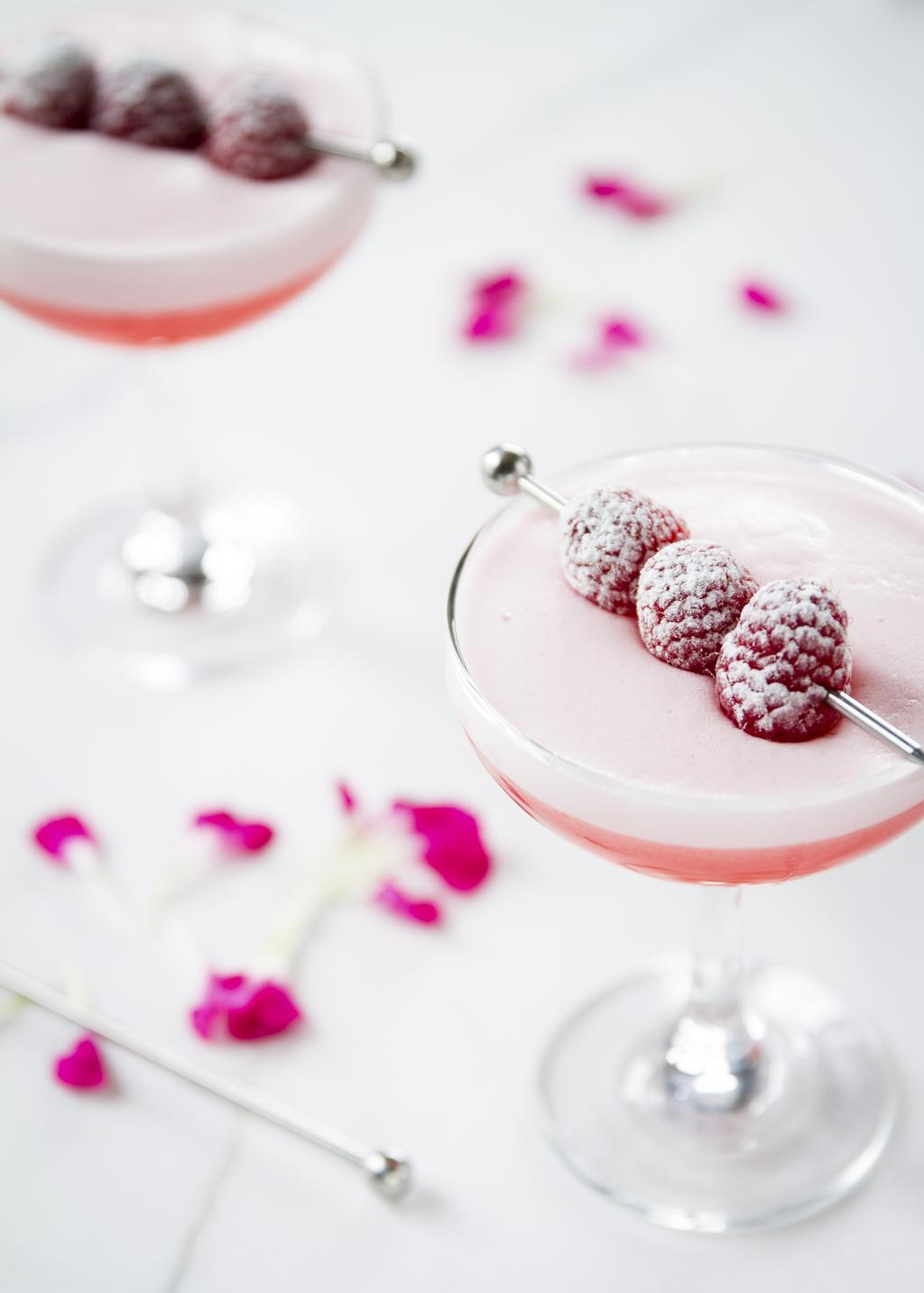 Clover Club à la Monsieur Cocktail