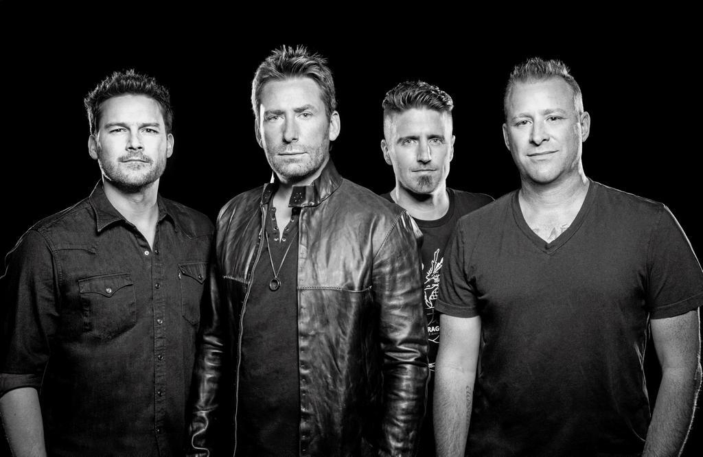 Le groupe canadien Nickelback