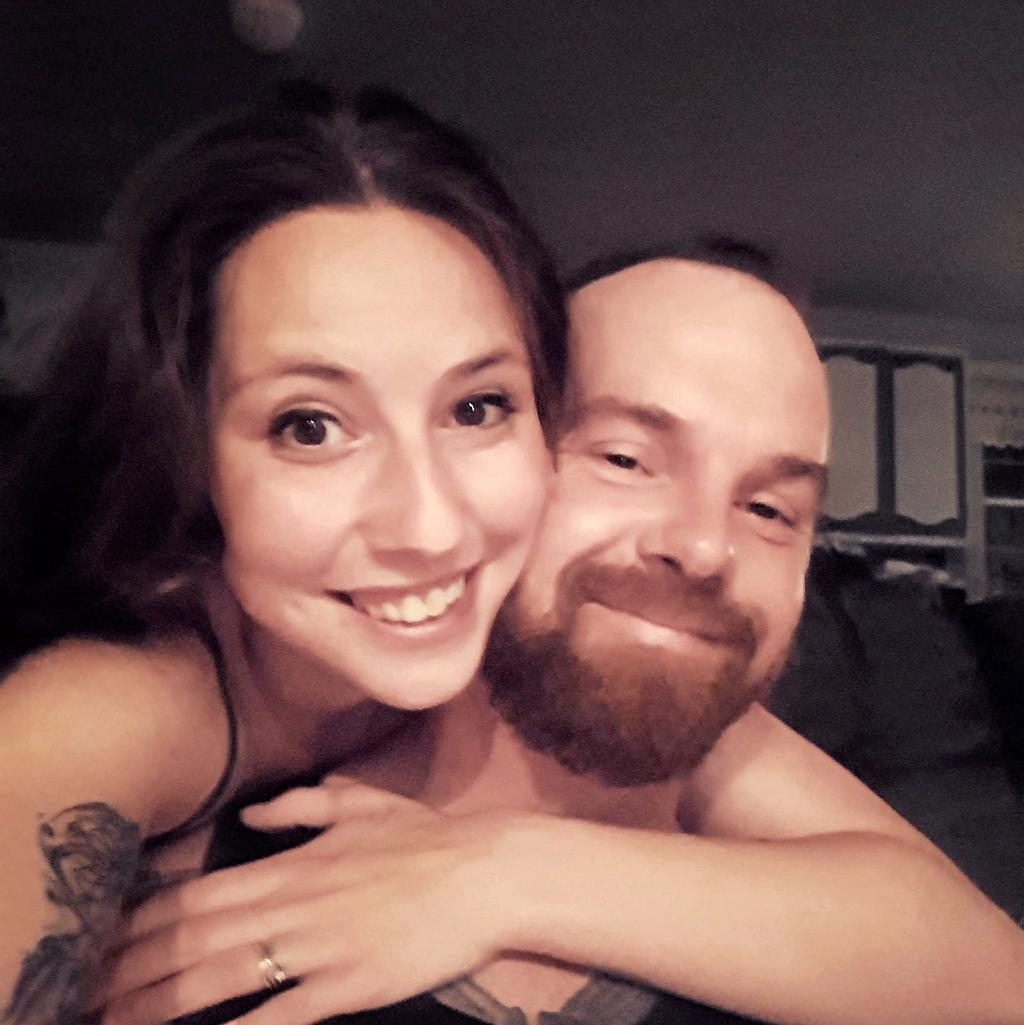 Roxanne Muise et son conjoint Shawn Wesley Gervais.