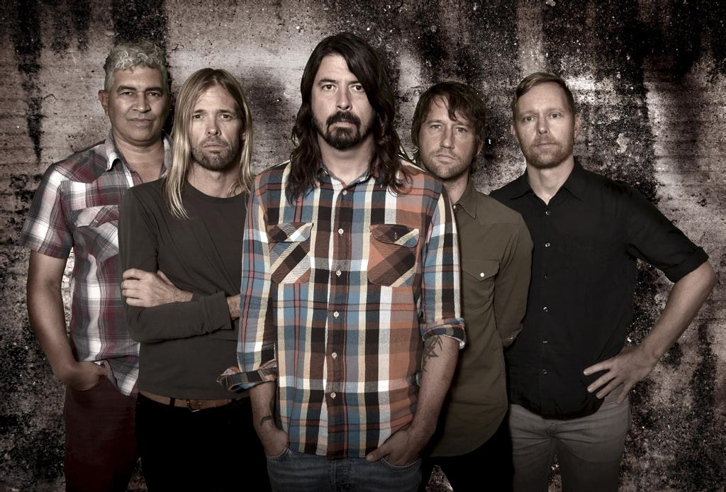Le groupe Foo Fighters