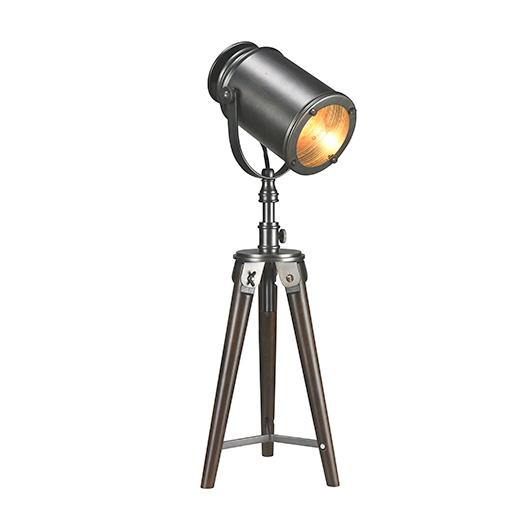 INDUSTRIEL Lampe de table style projecteur – Ameublements Tanguay