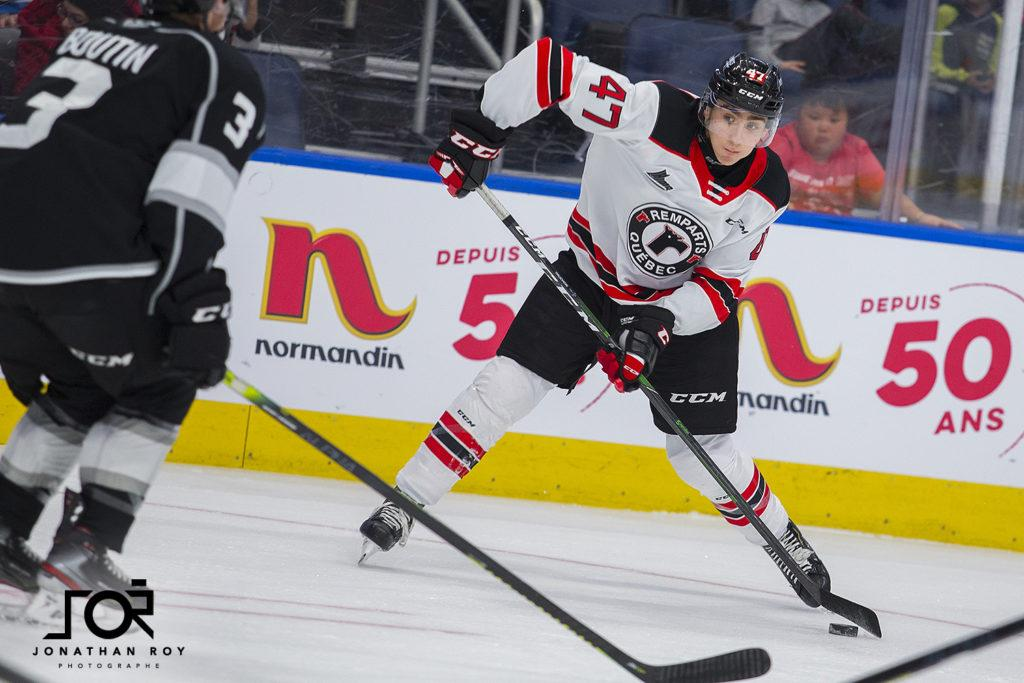 Remparts: Charle Truchon allie hockey et sciences