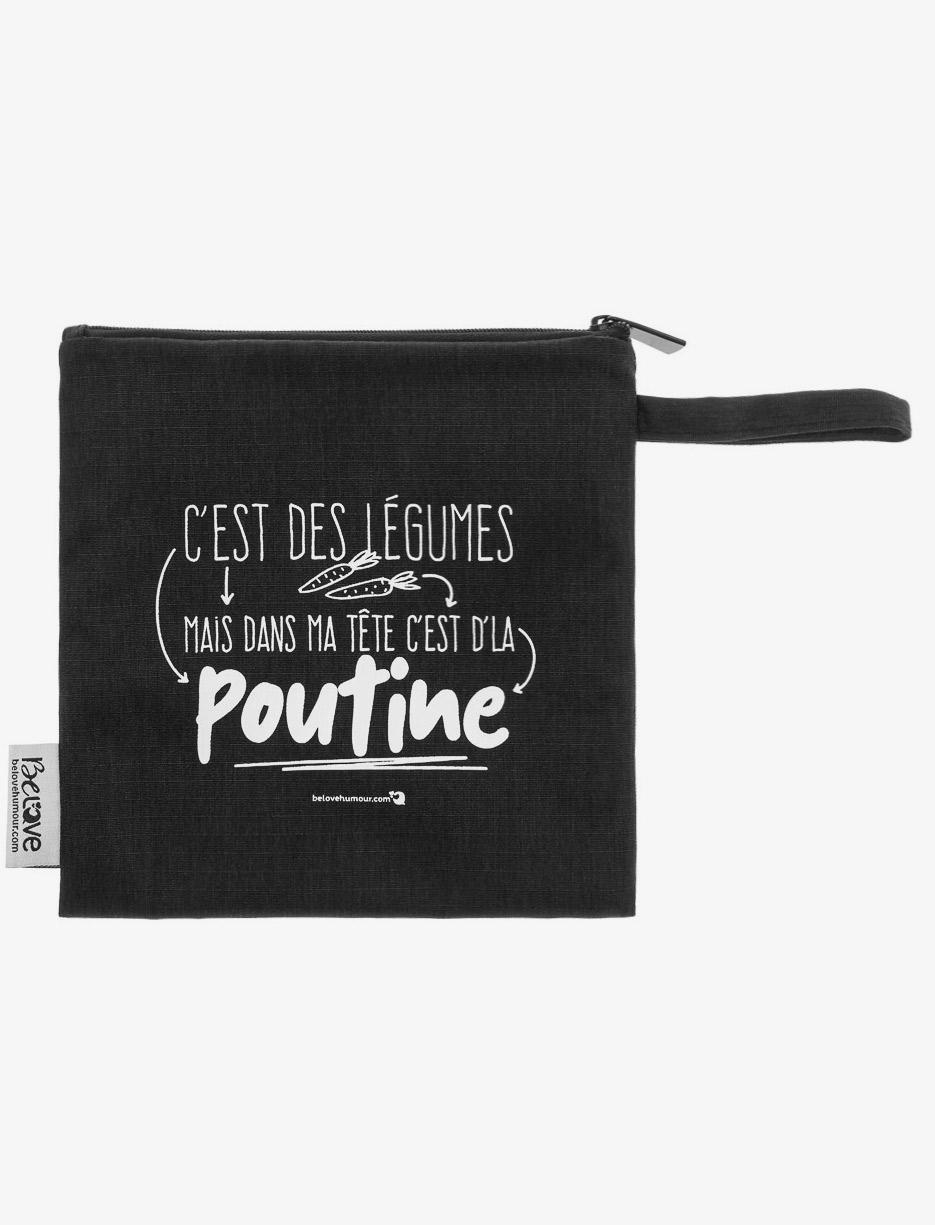 Sac à collations réutilisable – Mode Choc