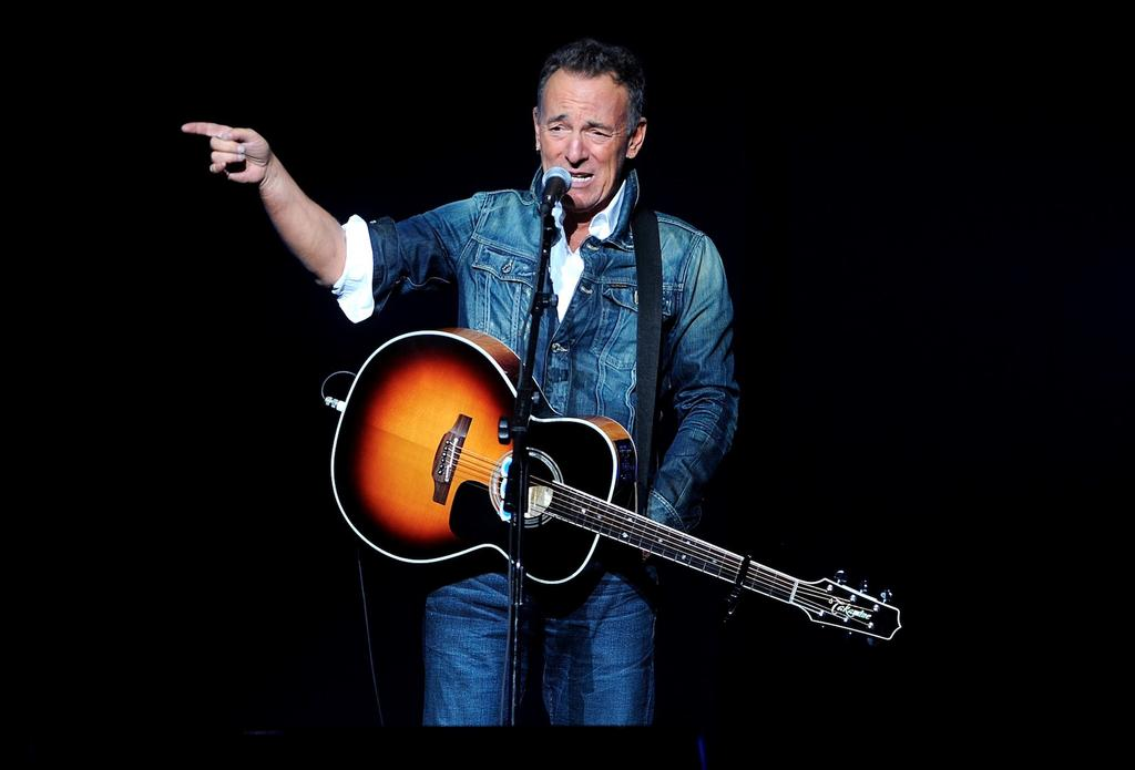 Bruce Springsteen au Madison Square Garden à New York, en novembre 2018