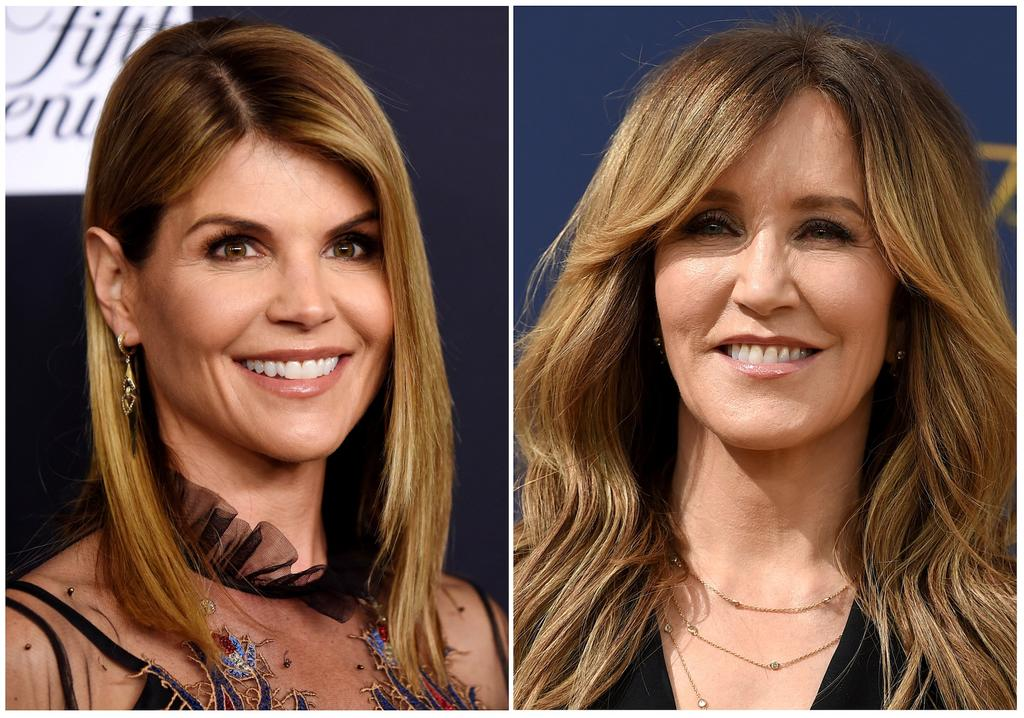Les actrices Lori Loughlin et Felicity Huffman