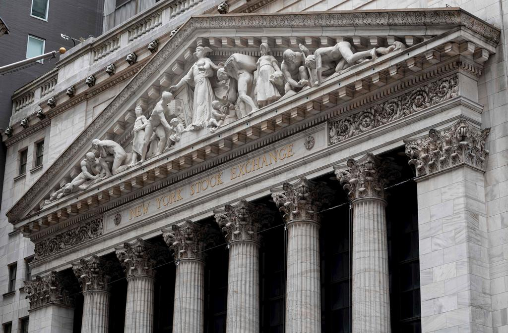 L'édifice de la bourse à New York