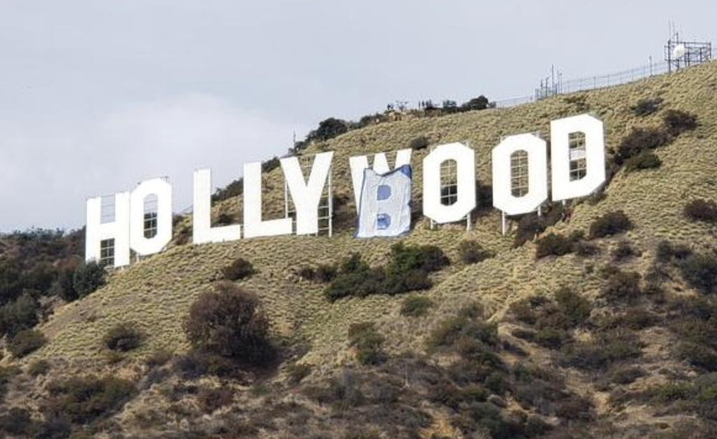 «Hollyboob» surplombe Los Angeles : six arrestations