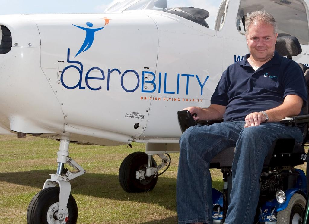 Le pdg d'Aerobility, Mike Miller-Smith
