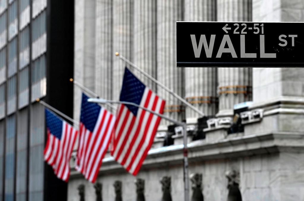 L'édifice de la Bourse de New York sur Wall Street