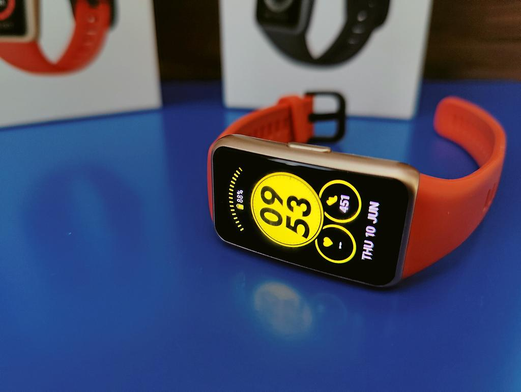 Test: Huawei Band 6, abordable et complet