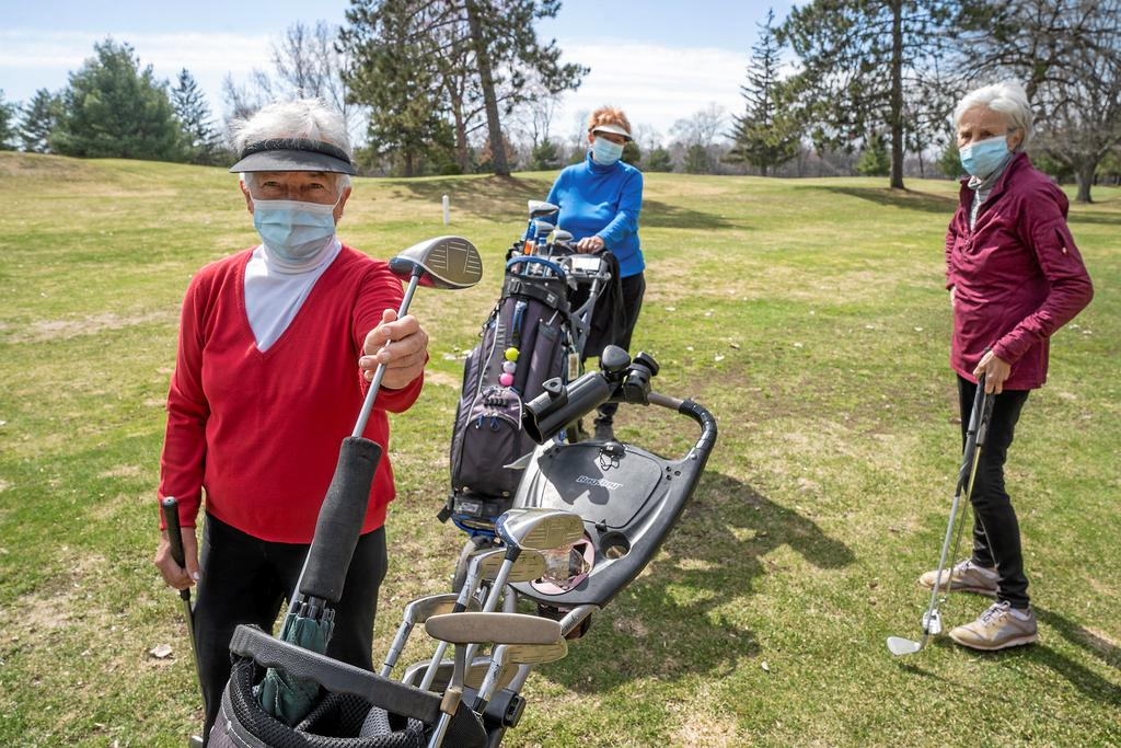 Masque au golf: de la frustration au soulagement [ARTICLE AUDIO]