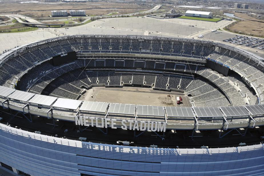 Le MetLife Stadium d'East Rutherford, au New Jersey