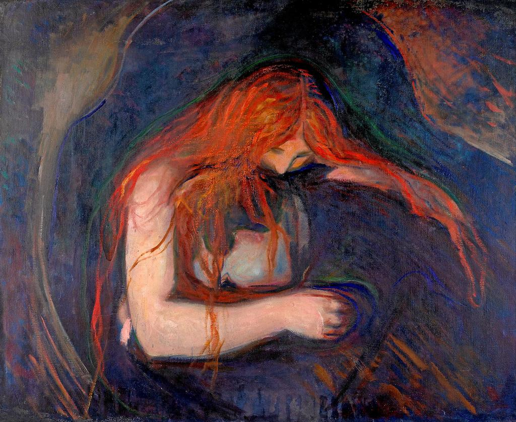 Love and Pain, Edvard Munch, 1895