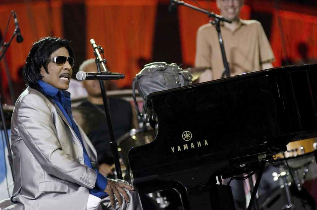 Little Richard, en concert au Capitole de Washington, en 2011.