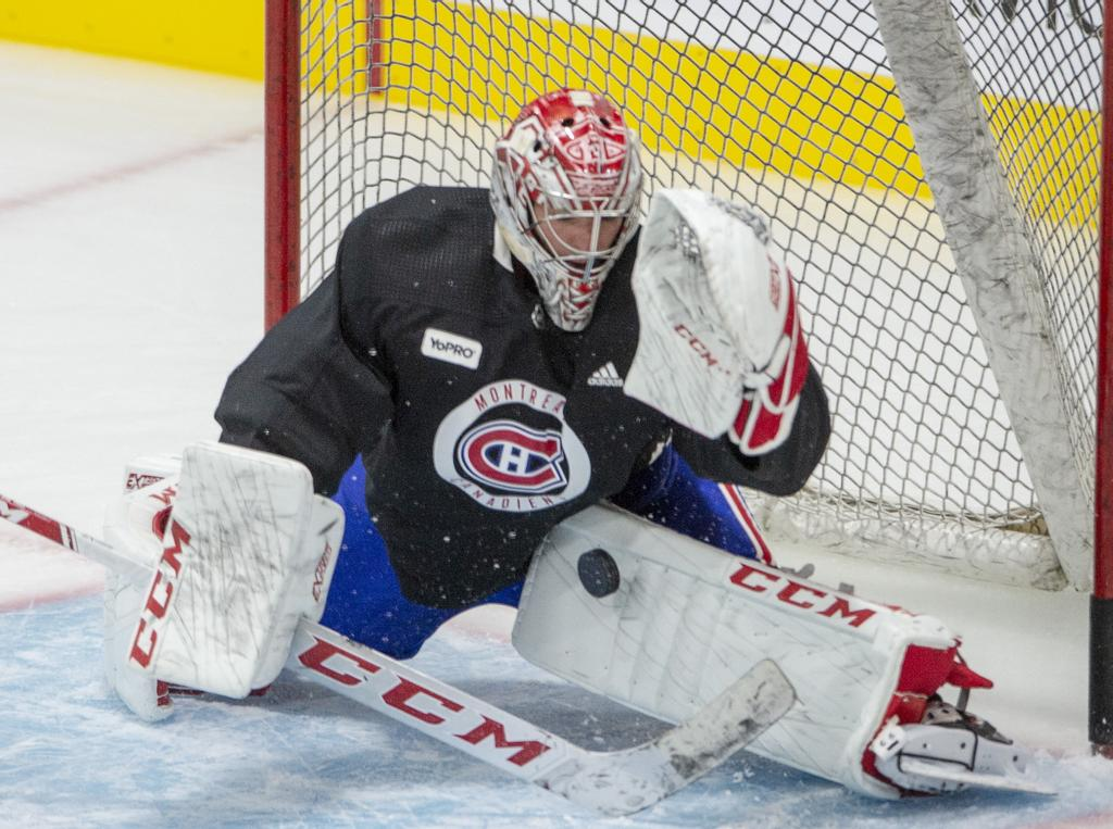 Carey Price en action