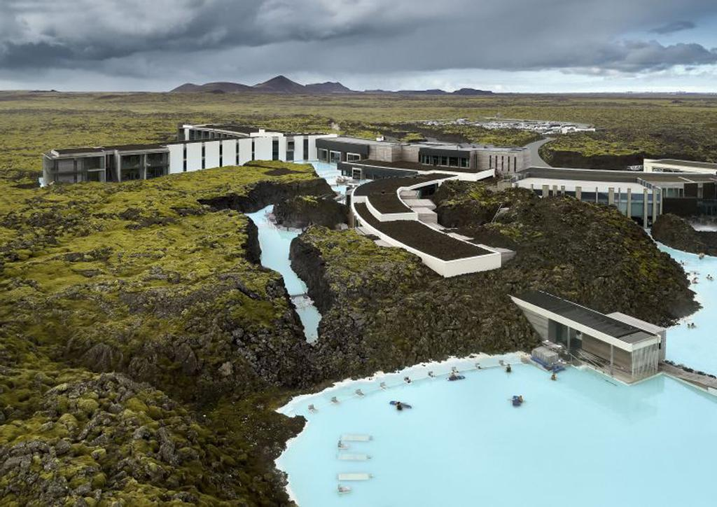 The retreat at the Blue Lagoon.