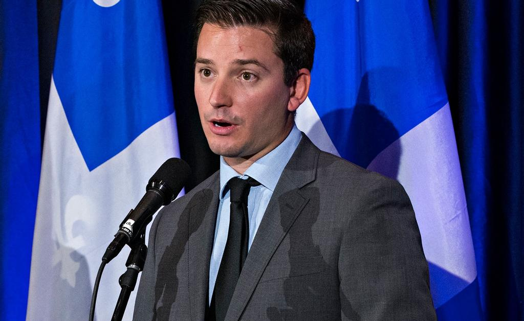 Le ministre de l'Immigration Simon Jolin-Barrette
