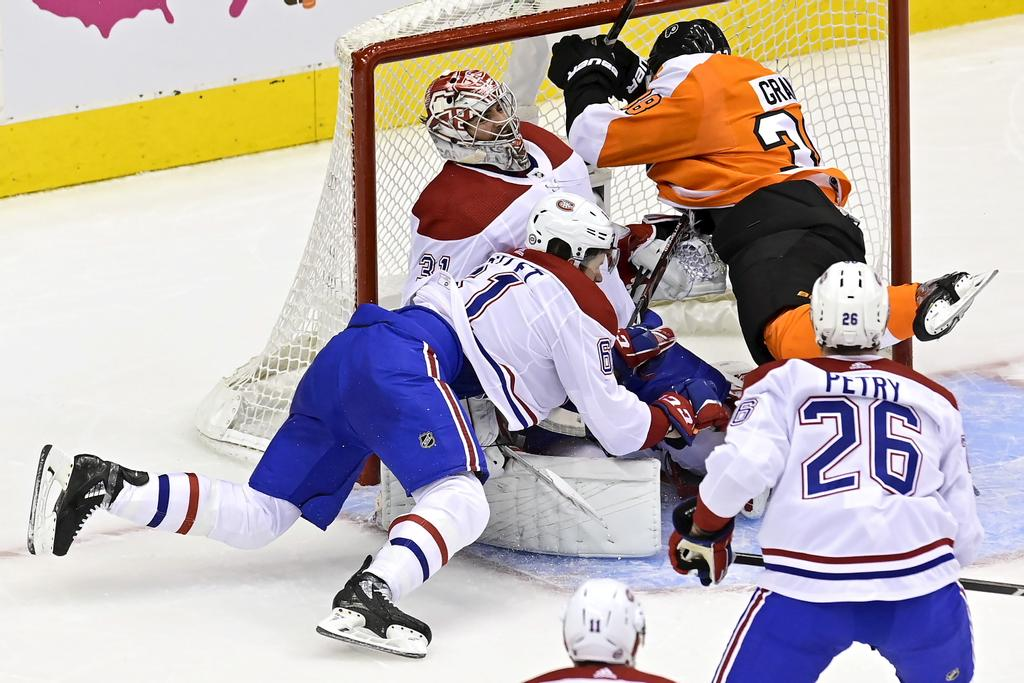 Flyers 2/Canadien 1: Carter a le meilleur sur Carey