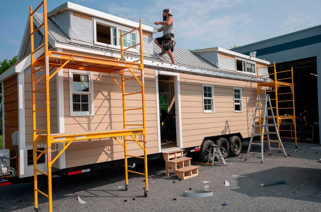 Une mini-maison construite par Liberation Tiny Homes