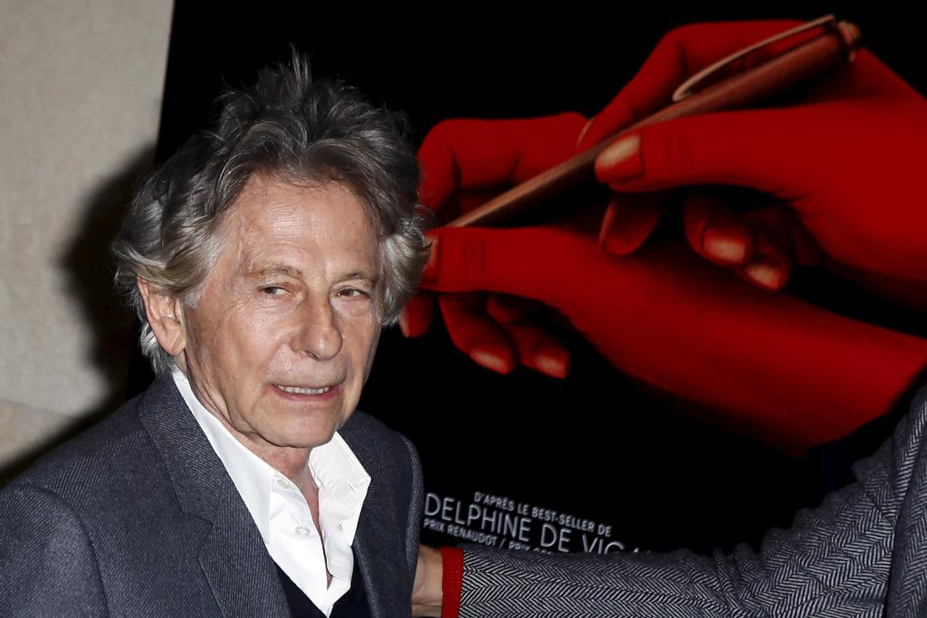 Roman Polanski en octobre 2017 à Paris