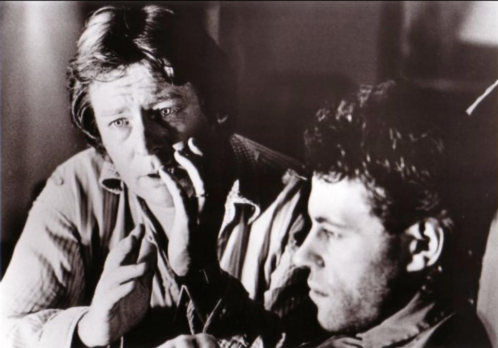 Alan Parker and Bob Geldof dans Pink <em>Floyd: The Wall </em>(1982)