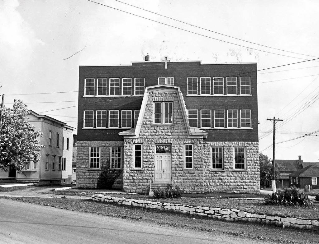 L'école Saint-Paul en 1947