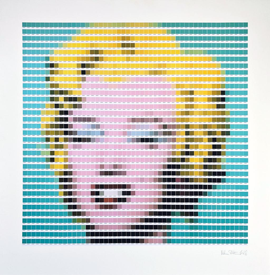 «Turquoise Marilyn» d'Andy Warhol