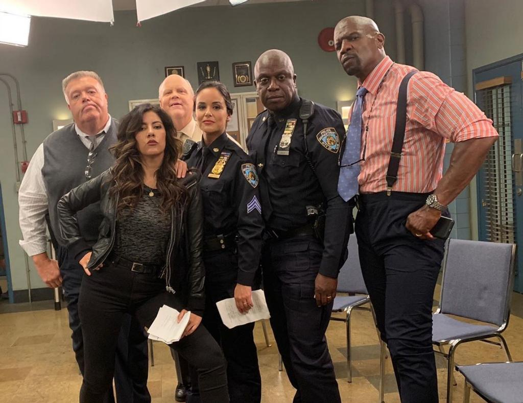 La distribution américaine de <em>Brooklyn Nine-Nine</em>.