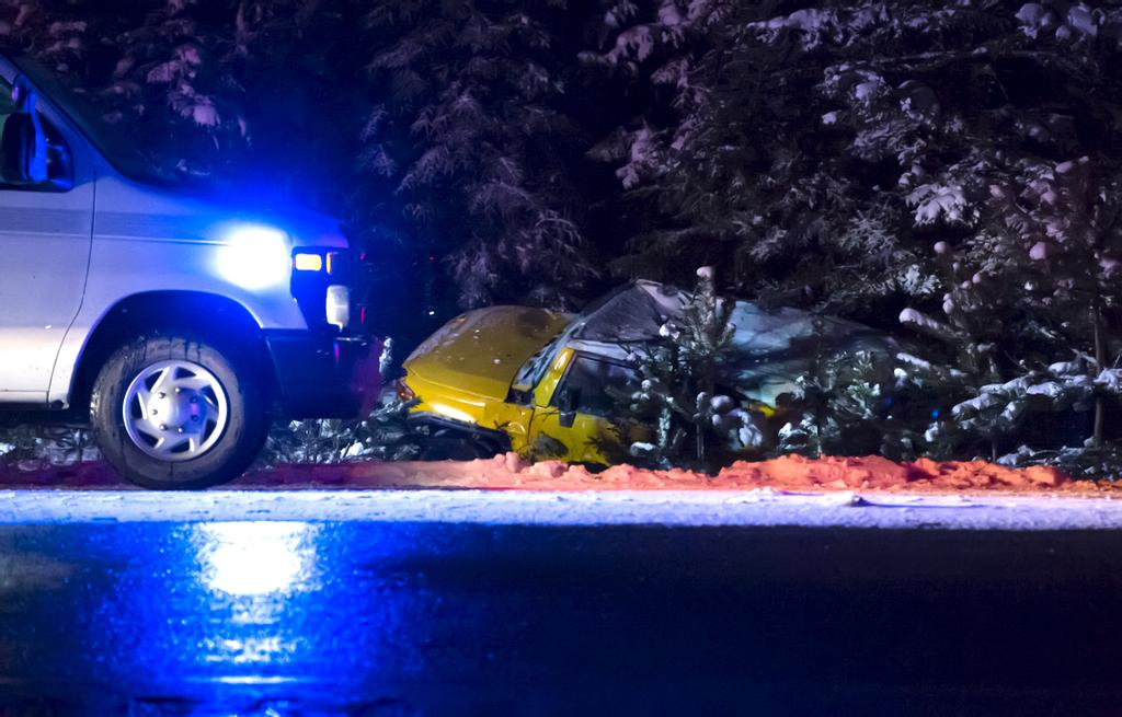 Deux accidents graves sur les routes de l'Estrie