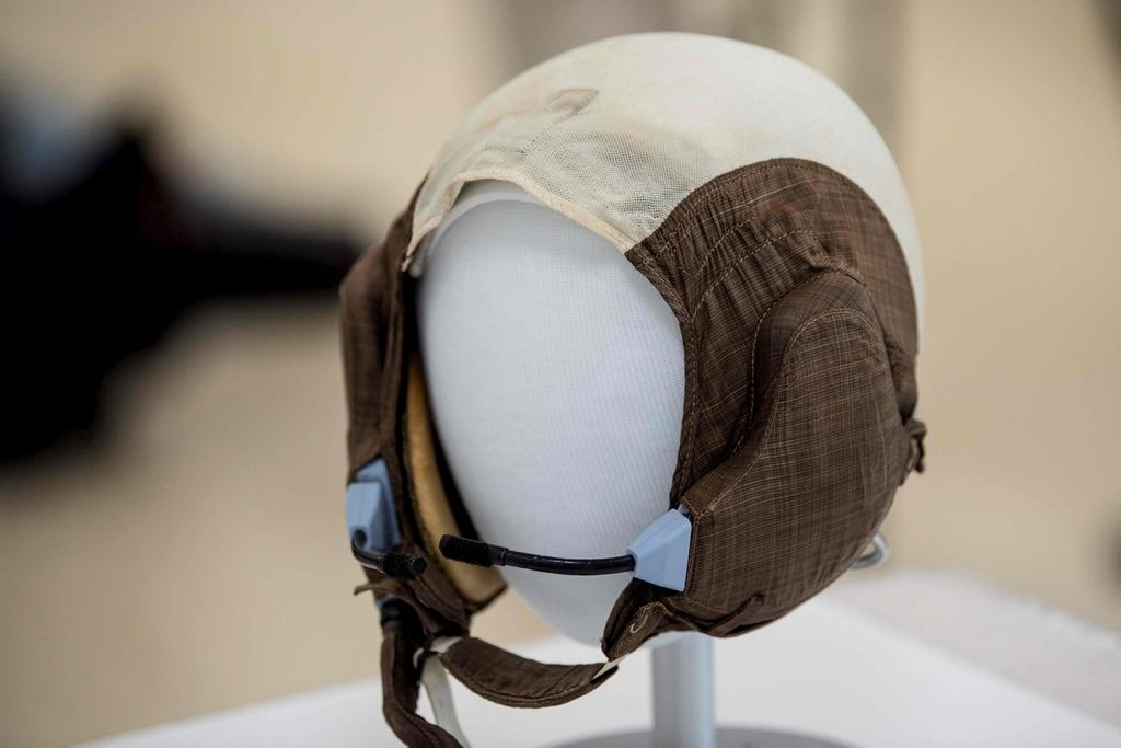 Le casque de communication de Buzz Aldrin