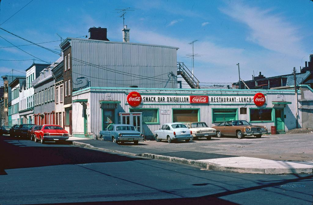 Le Snack-bar d'Aiguillon en 1975