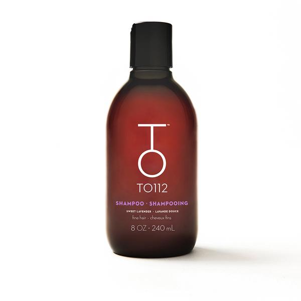 Shampooing pour cheveux fins TO112, 24$ pour 240 ml
