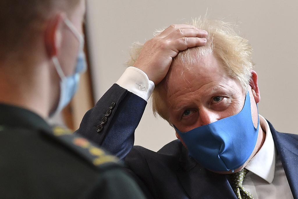 Le premier ministre britannique Boris Johnson