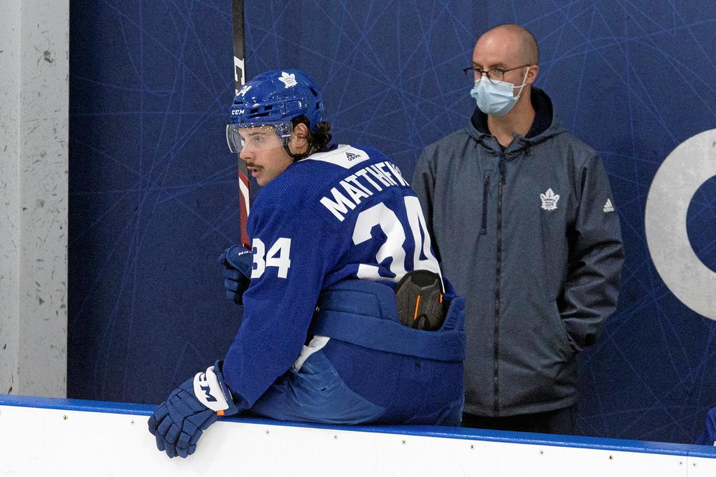 Auston Matthews a contracté le virus pendant son séjour à Scottsdale, en Arizona.